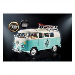 Playmobil campo volkswagen t1 camping bus edicion especial - Imagen 1
