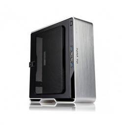 Caja ordenador mini itx tower in win chopin silver plated fuente 150w - Imagen 1