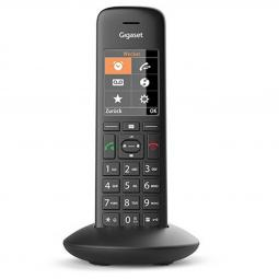 Telefono gigaset c570hx inalambrico dect negro identificador llamadas - Imagen 1