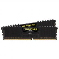 Memoria ddr4 32gb kit 2x16 corsair vengeance lpx - pc4 - 28800 -  3600mhz -  c18 negro - Imagen 1