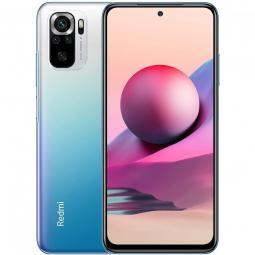 Telefono movil smartphone xiaomi redmi note 10s ocean blue -  6.43pulgadas -  128gb rom -  6gb ram -  64+8+2+2 mpx -  13mpx -  5