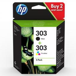 Pack cartucho tinta hp 3ym92ae nº 303 - Imagen 1