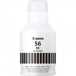 Botella tinta canon gi - 56bk 170ml 6000 paginas - Imagen 1