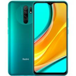 Telefono movil smartphone xiaomi redmi 9 ocean green -  6.53pulgadas -  64gb rom -  4gb ram -  13+8+5+2mpx -  8mpx -  5020mah -