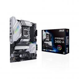 Palca base asus intel prime z490 - a socket 1200 ddr4 x4 max. 128gb 2666mhz display port hdmi atx - Imagen 1