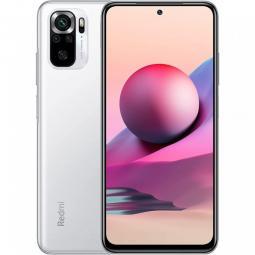 Telefono movil smartphone xiaomi redmi note 10s pebble white -  6.43pulgadas -  128gb rom -  6gb ram -  64+8+2+2 mpx -  13mpx -