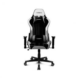Silla gaming drift dr175 gris incluye cojines cervical y lumbar - Imagen 1
