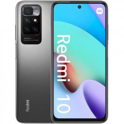 Telefono movil smartphone xiaomi redmi 10 carbon grey -  6.5pulgadas -  128gb rom -  4gb ram -  50+8+2mpx -  8mpx -  5000mah -