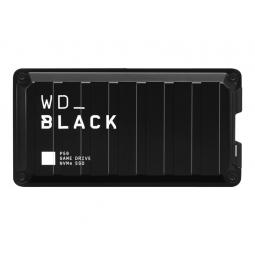 Disco duro externo hdd wd western digital 2tb black p50 game drive ssd usb tipo c - Imagen 1