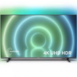 Tv philips 50pulgadas led 4k uhd -  50pus7906 - 12 -  android tv -  smart tv -  4 hdmi -  2 usb -  dvb - t - t2 - t2 - hd - c -