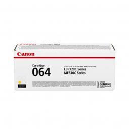 Cartucho toner canon 064 amarillo 5000 paginas - Imagen 1