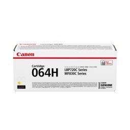 Cartucho toner canon 064h amarillo 10400 paginas - Imagen 1