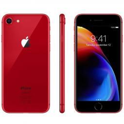 Telefono movil smartphone reware apple iphone 8 256gb red - 4.7pulgadas - lector huella - reacondicionado - refurbish - grado a+