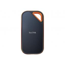 Disco duro externo solido hdd ssd sandisk 4tb extreme pro portable lect: 2000 mb - s -  escr: 2000 mb - s - usb - c - nvme - Ima