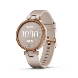 Reloj smartwatch garmin lily sport rosa dorado f.cardiaca -  tft lcd tactil -  gps -  34.5mm -  bt -  5atm -  aluminio - Imagen