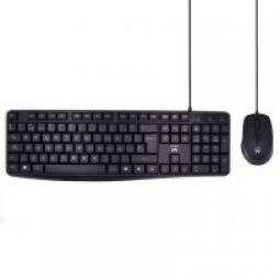 Kit teclado + mouse raton ewent ew3006 usb escritura silenciosa - Imagen 1