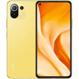 Telefono movil smartphone xiaomi  mi 11 lite 5g citrus yellow -  6.55pulgadas - 128gb rom -  8gb ram -  64+8+5 mpx -  20 mpx -