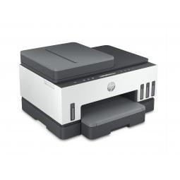 Multifuncion hp inyeccion color inkjet smart tank 7305 a4 -  15ppm -  9ppm color -  256mb -  usb -  red -  wifi -  bt -  duplex