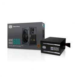 Fuente de alimentacion atx 600w cooler master mwe bronze 600 v2 80  bronze - ventilador 120mm - 2400 rpm - Imagen 1