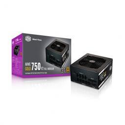 Fuente de alimentacion atx 750w coolermaster mwe gold v2 80 gold -  full modular -  vent 120mm - Imagen 1
