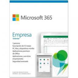 Microsoft office 365 empresa estandar 1 licencia 1 año caja (new) - Imagen 1