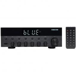 Amplificador estereo hifi fonestar as - 1515 - bluetooth - radio fm - 15 + 15 w rms usb -  mp3 - Imagen 1