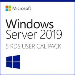 Microsoft windows server 2019 5 licencias cal usuario hpe - Imagen 1