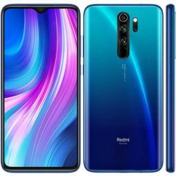 Telefono movil smartphone xiaomi redmi note 8 pro - 6.53pulgadas -  blue - 64gb rom -  6gb ram -  64+8+2+2 mpx - 20 mpx -  4500