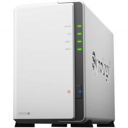 Servidor nas synology disk station ds220j 512 mb ethernet gigabit - Imagen 1