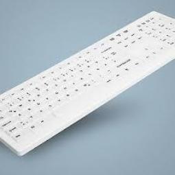 Teclado active key ak - c8100f - u1 - w - sp blanco ip65 - Imagen 1