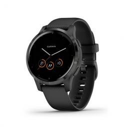 Smartwatch garmin sport watch gps vivoactive 4s - f.cardiaca - barometro - gps - glonass - 40mm - bt - wifi -  negro - Imagen 1