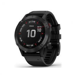 Smartwatch garmin sport watch gps fenix 6 pro - f.cardiaca - barometro - gps - glonass - 47mm - bt - wifi - negro - Imagen 1
