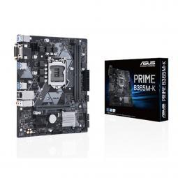 Placa base asus intel prime b365m - k socket 1151 ddr4 x2 2666mhz max 32gb dvi - d vga  matx - Imagen 1