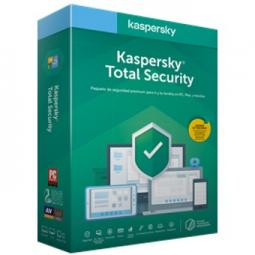 Antivirus kaspersky total security 2020 5 licencias - Imagen 1
