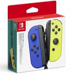 Accesorio nintendo switch -  mando joy - con azul - amarillo neon - Imagen 1