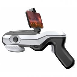 Pistola gaming  ar magic gun 4d realidad aumentada bluetooth blanco y negro - Imagen 1