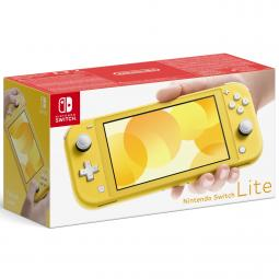 Consola nintendo switch lite amarillo - Imagen 1