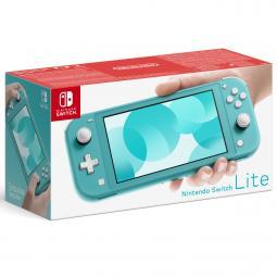 Consola nintendo switch lite azul turquesa - Imagen 1