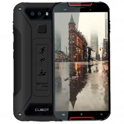 Telefono movil smartphone cubot quest lite rojo negro 5pulgadas - 32gb rom - 3gb ram - 13+2mpx -  8mpx - ip68 - ouad core - 4g -