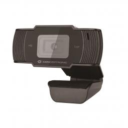 Webcam hd conceptronic amdis05b - 720p - usb 2.0 - 30 fps - angulo vision 68º - microfono integrado - Imagen 1