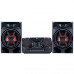 Microcadena lg ck43 300w bluetooth usb auto dj - Imagen 1