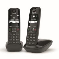 Telefono inalambrico gigaset as690 duo negro - Imagen 1