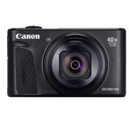 Camara digital canon powershot sx740 hs 20.3mp -  zoom 80x -  zo 40x -  3'' -  full hd -  wifi -  negra - Imagen 1