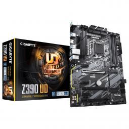 Placa base gigabyte intel z390 ud lga 1151 ddr4x4 64gb hdmi atx - Imagen 1