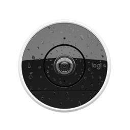 Camara de seguridad logitech circle 2 full hd wifi sin cable bateria 6700mah. - Imagen 1