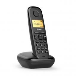 Telefono fijo inalambrico gigaset a170 negro 50 numeros agenda -  10 tonos - Imagen 1