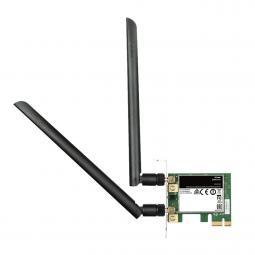 Adaptador wifi ac1200 dual - band pci express d - link - Imagen 1
