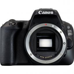 Camara digital reflex canon eos 200d body (solo cuerpo) cmos -  24.2 mp -  digic 7 -  9 puntos de enfoque -  wifi - Imagen 1