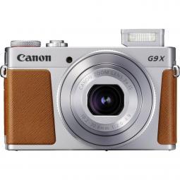 Camara digital canon powershot g9x mark ii 20.1mp -  3pulgadas -  zo 3x -  bluetooth -  wifi -  nfc activo -  plata - Imagen 1