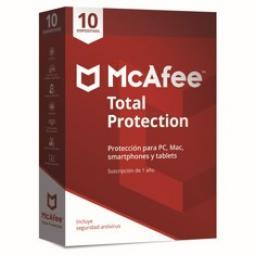 Antivirus mcafee total protection 2019 10 dispositivos - Imagen 1